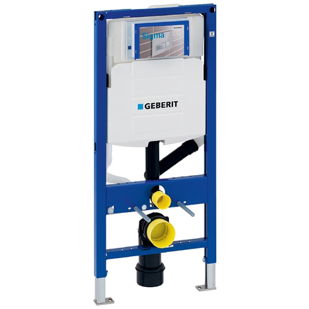 Geberit Duofix WC frame H112 with Sigma cistern 12cm and odour extraction