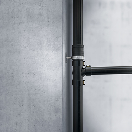 Geberit Silent-db20 sound-insulating pipe system