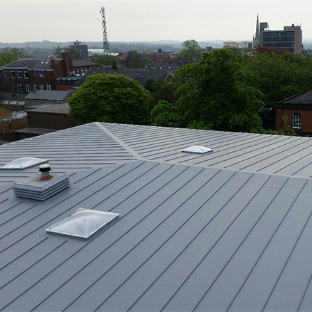 Single-Ply Membrane at Wakefield Grammar