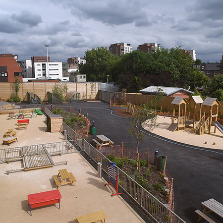 External furniture package at Kingsgate Primary