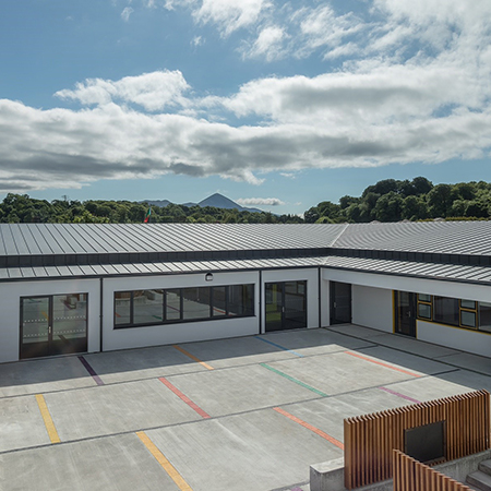 Bauder Thermofol roof for RIAI recognised project