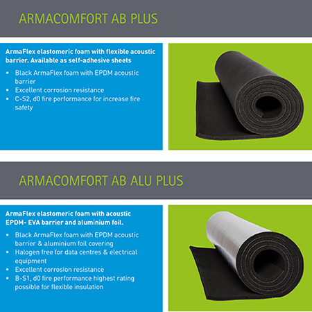New Armacomfort from Armacell reduces noise levels