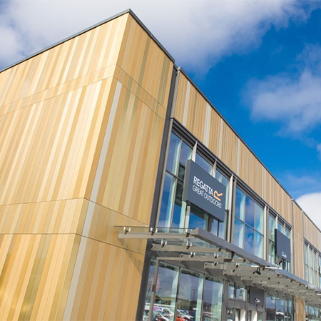 Aliva's 'golden gateway' for Europe's biggest retail park
