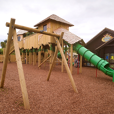 Broxap have produced FSC timber play equipment