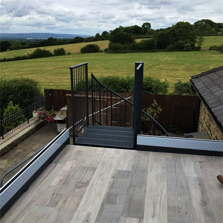 Sedum Supply complete EPDM Waterproofing Balcony Projects