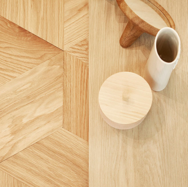 Hexparket flooring showcased at London Design Fair 2018