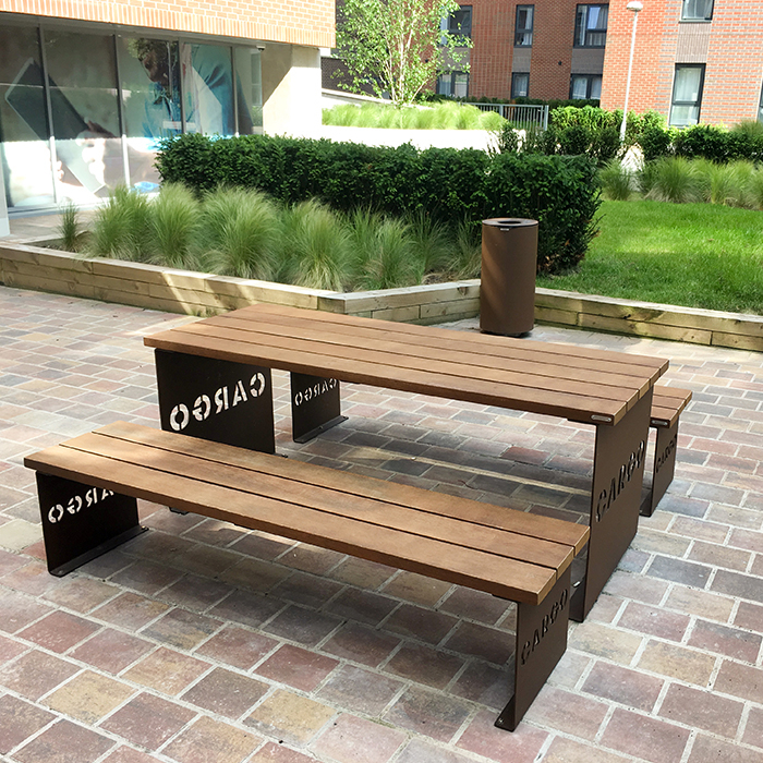 Artform Urban Furniture for The Baltic Triangle