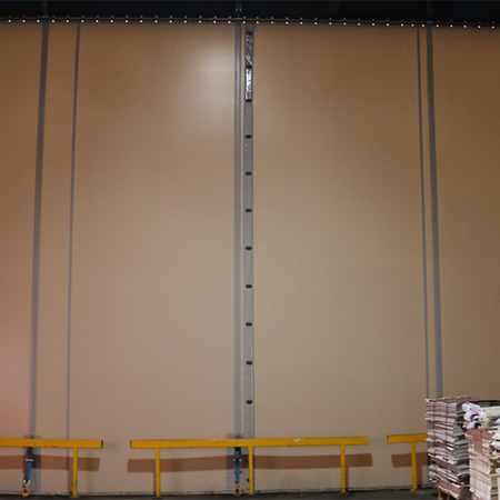Flexiwall and Fastflex at Coveris in Lincolnshire