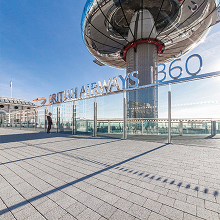 Tobermore Sienna Duo Silver - British Airways i360 Tower, Brighton