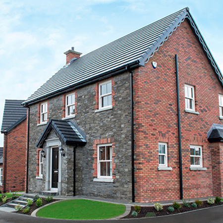 Tobermore Country Stone Slate, Lansdowne Heather - Laurel Bank, Moneyreagh