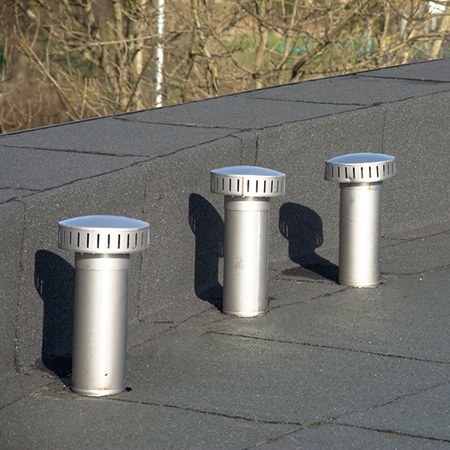 Flat roof penetrations best practice