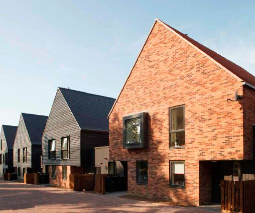 Housing development for school funding built with Forterra bricks