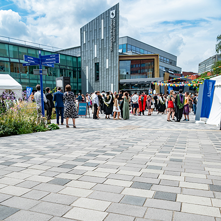 Charcon provides first-class paving solution for Sheffield University