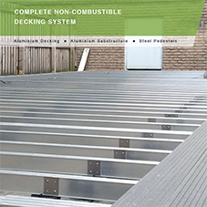 Builddeck A+ Aluminium Decking System Data Sheet