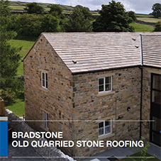 Old Quarried Stone Roofing