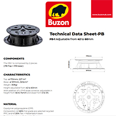 Technical Datasheet PB1 42-60mm