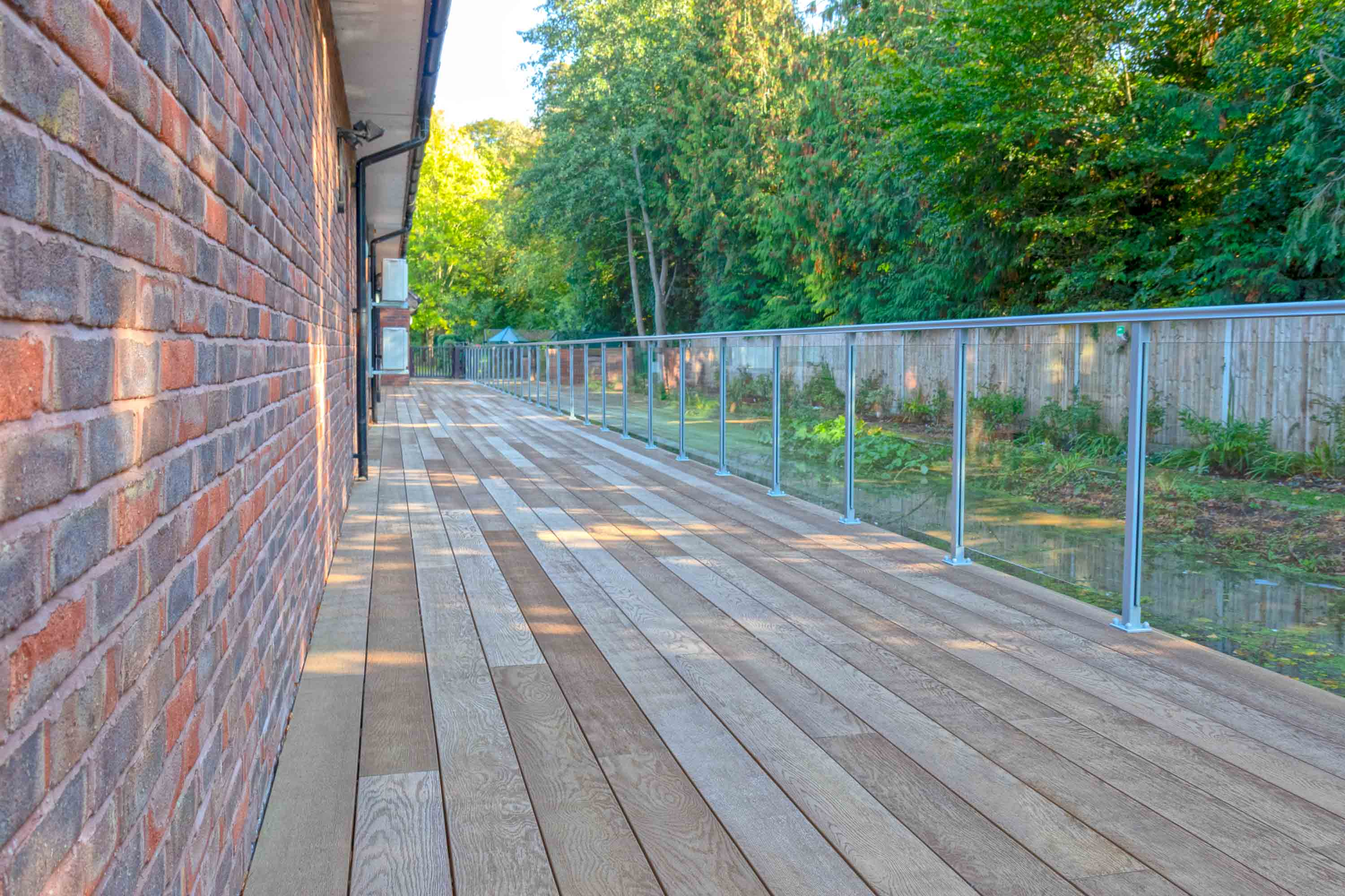 Exterior decking surface for beautiful Princess Alice Hospice