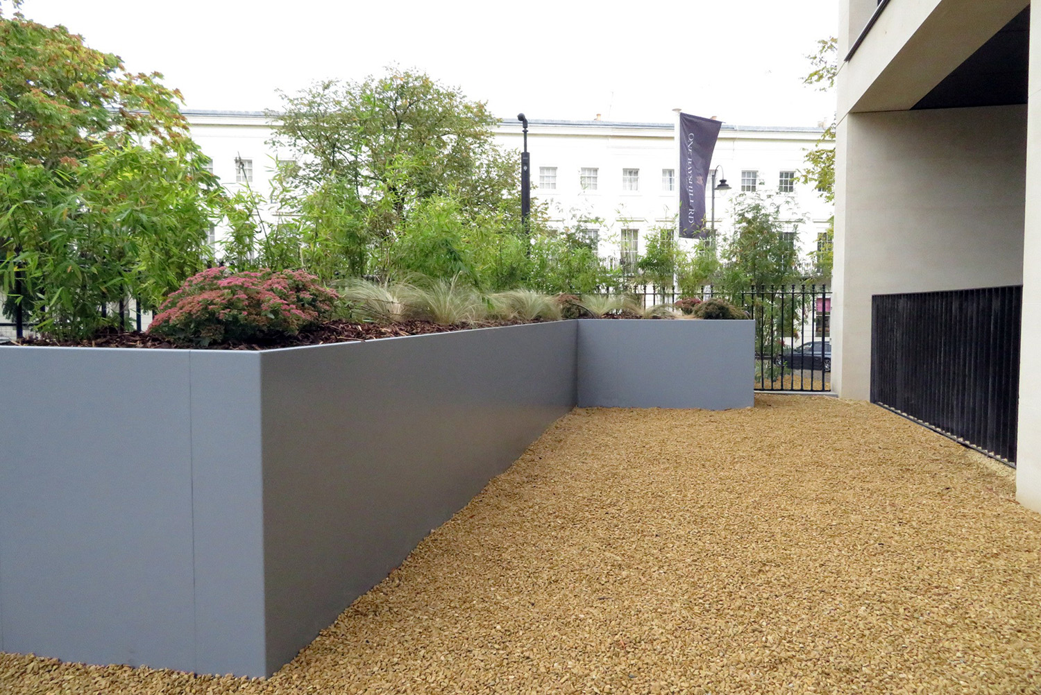 EverEdge custom edging and planters for various projects