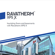 Ravatherm XPS X - Insulating floors and basements