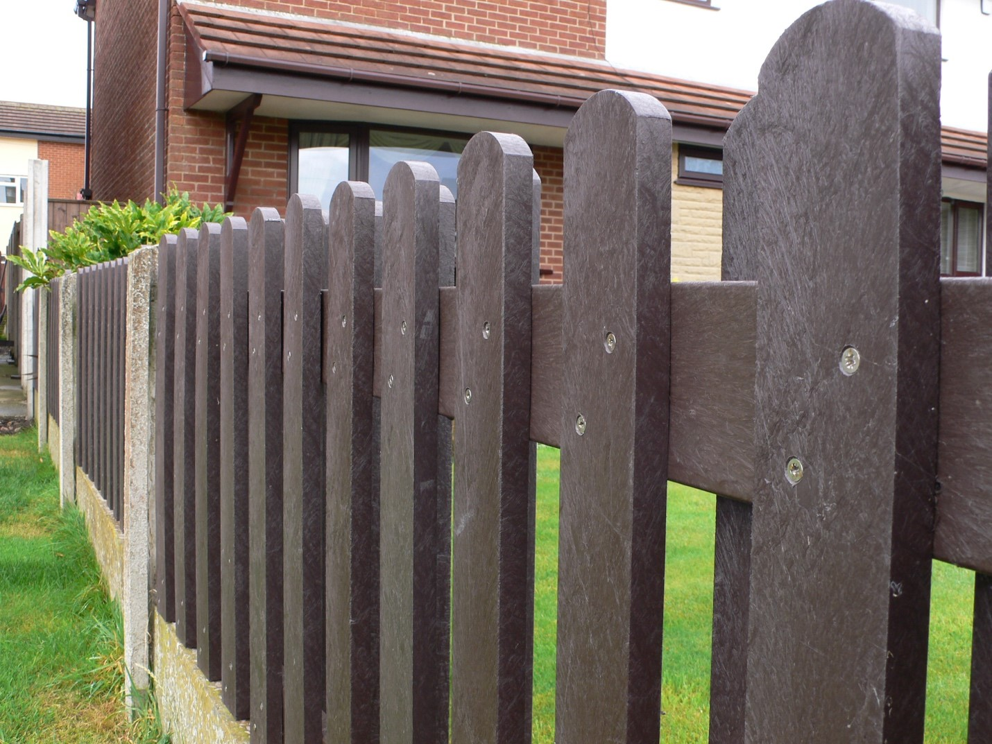 Residential fencing eliminates ownership maintenance entirely!