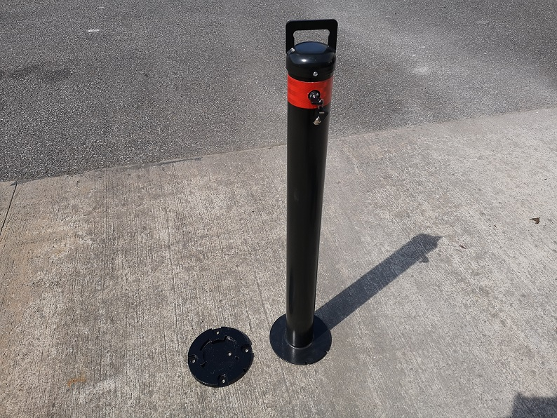 Introducing Mac Automated Bollard Systems removable Bollards!