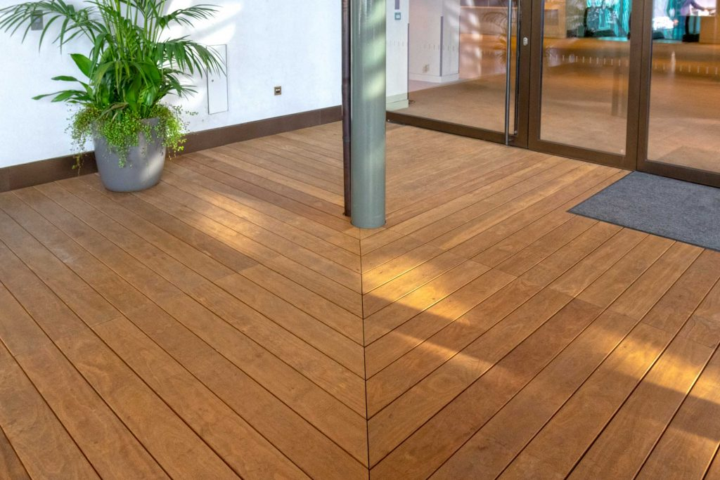Fresh new decking for Royal Opera House with Grad System