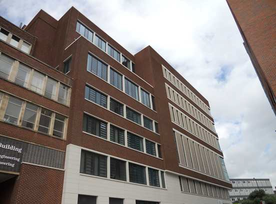 Fieger ensure natural ventilation for The University of Sheffield