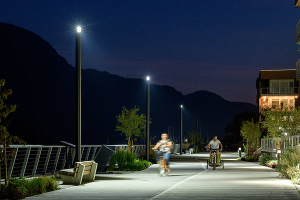 Selux bring nature and people together at the Squamish Waterfront