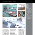GEC Anderson Made-to-Measure Stainless-Steel Sinks, Worktops Cabinets, Panels, Doors and Shelving