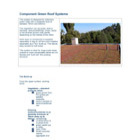 Component Green Roof Systems Technical Data