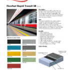 Flowfast Rapid Transit SR: Technical Data