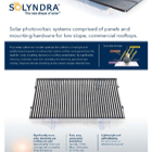 Solyndra<sup>®</sup>: Technical Data
