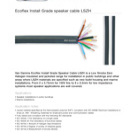 <b> Van Damme LSZH Ecoflex Series </b> </p>