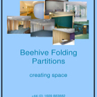 Beehive Folding Partitions Brochure