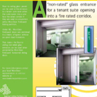 Beehive Folding Partitions Glass Wall Protection