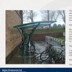 8M Oxford Cycle Shelter