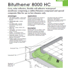 Bituthene 8000 HC Con-Deck Technical Data