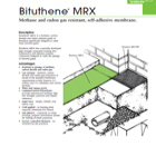 Bituthene MRX Technical Data