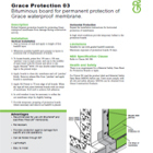 Grace Protection Technical Data