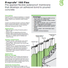 Preprufe 160 Flex Technical Data