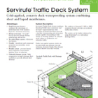 Servirufe Tf Deck System Technical Data