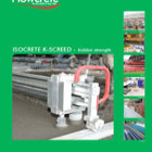 Isocrete K Screed Brochure