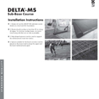 Delta MS Sub Base Installation