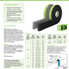 TP600 Impregnated Foam Tape Data Sheet