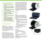 ME220 Elastomeric EPDM Membrane Data Sheet