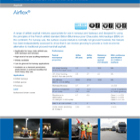 Airflex Technical Data Sheets