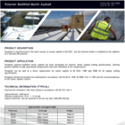 Paraphalt Polymer Modified Asphalt Data Sheet
