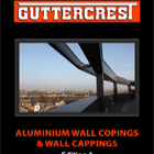 Guttercrest Aluminium Wall Copings & Wall Cappings