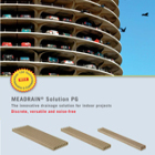 MEADRAIN Solution PG Indoor Drainage Product Brochure