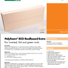 Polyfoam® ECO Roofboard Extra Technical Data